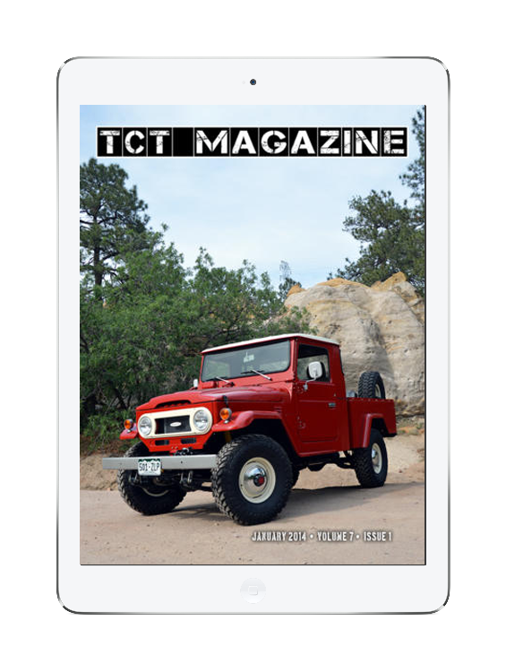 Toyota Magazine iPad App
