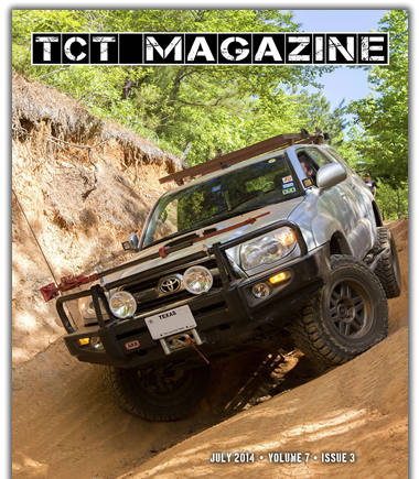 July 2014 Toyota Magazine 4Runners in Moab, TRD Pro Test Drive, Cruise Moab, Overland Expo, Dual Battery Install