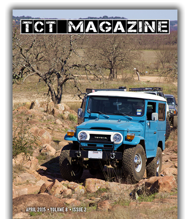 Land Cruiser Roundup, Comet Chasing 4Runner, National Parks, 2015 CrewMax Tundra, Rear FJC LED lights Toyota Magazine