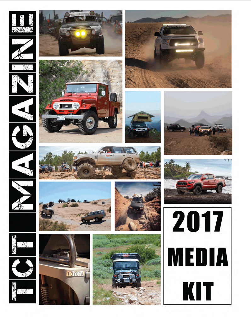 Toyota Magazine 2017 Media Kit Cover