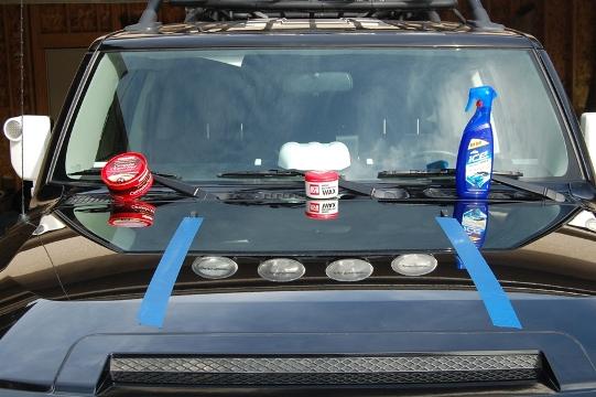 FJ Cruiser wax options from Toyota Cruisers & Trucks Magazine