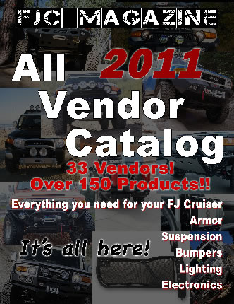 FJ Cruiser All Vendor Catalog 2011
