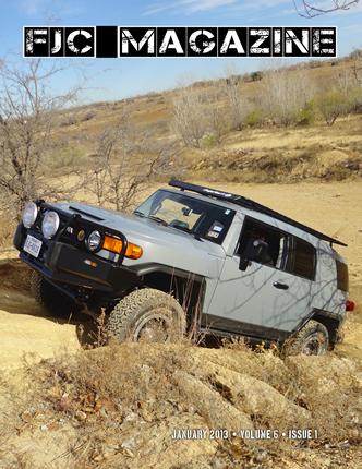 2013 Toyota FJ Cruiser Magazine