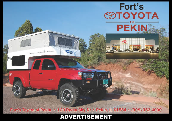 Forts Toyota of Pekin, IL  Tacoma & FJ Cruiser Headquarters